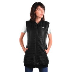 F.KL VEST FEATHER BLACK