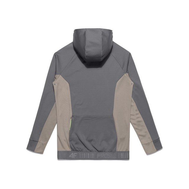4F X PROSTO TRACKSUIT TOP GREY