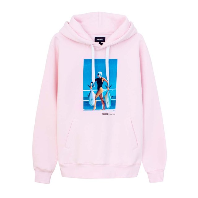 "JD. LORIEUX ""TRIFFIE"" TWO HOODIE PINK"