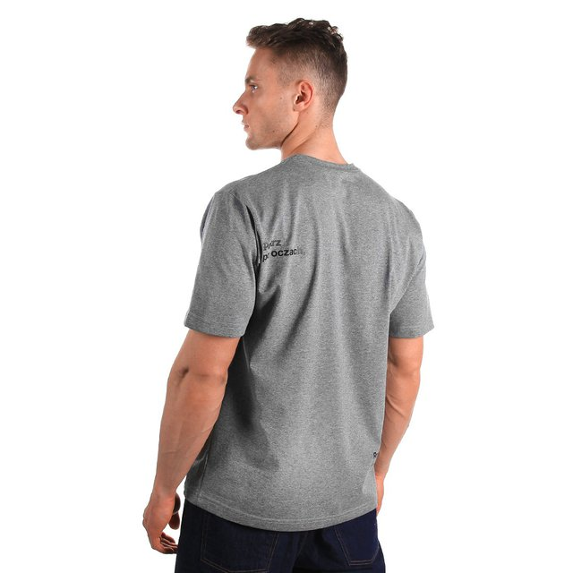 T-SHIRT PATRZ MEDIUM HEATHER GREY