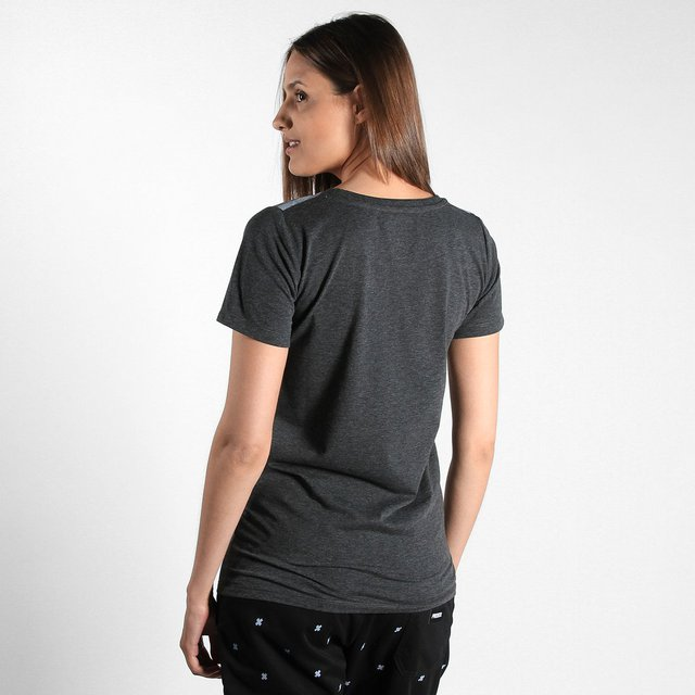 TEE TITS MEDIUM HEATHER GREY