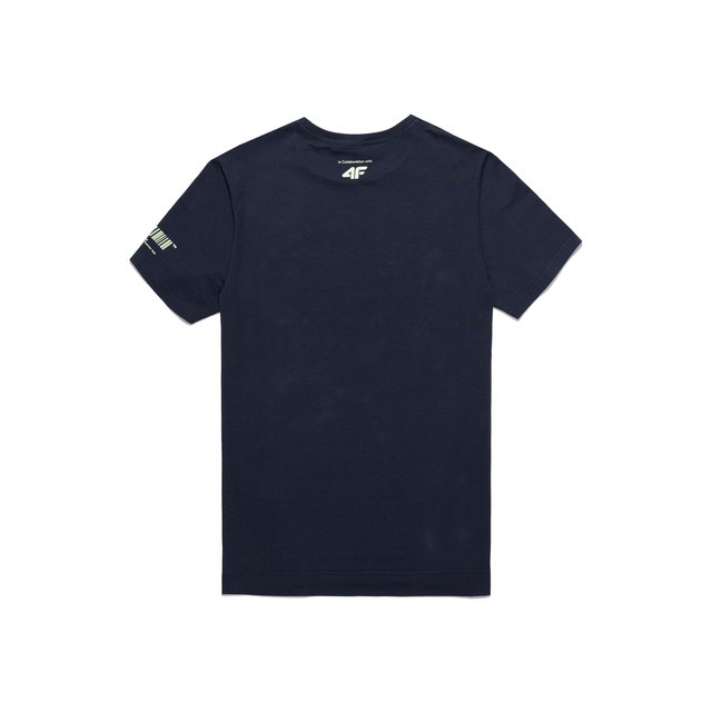 4F X PROSTO T-SHIRT COTTON NAVY
