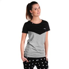 F.ST TEE PIT MEDIUM HEATHER GREY