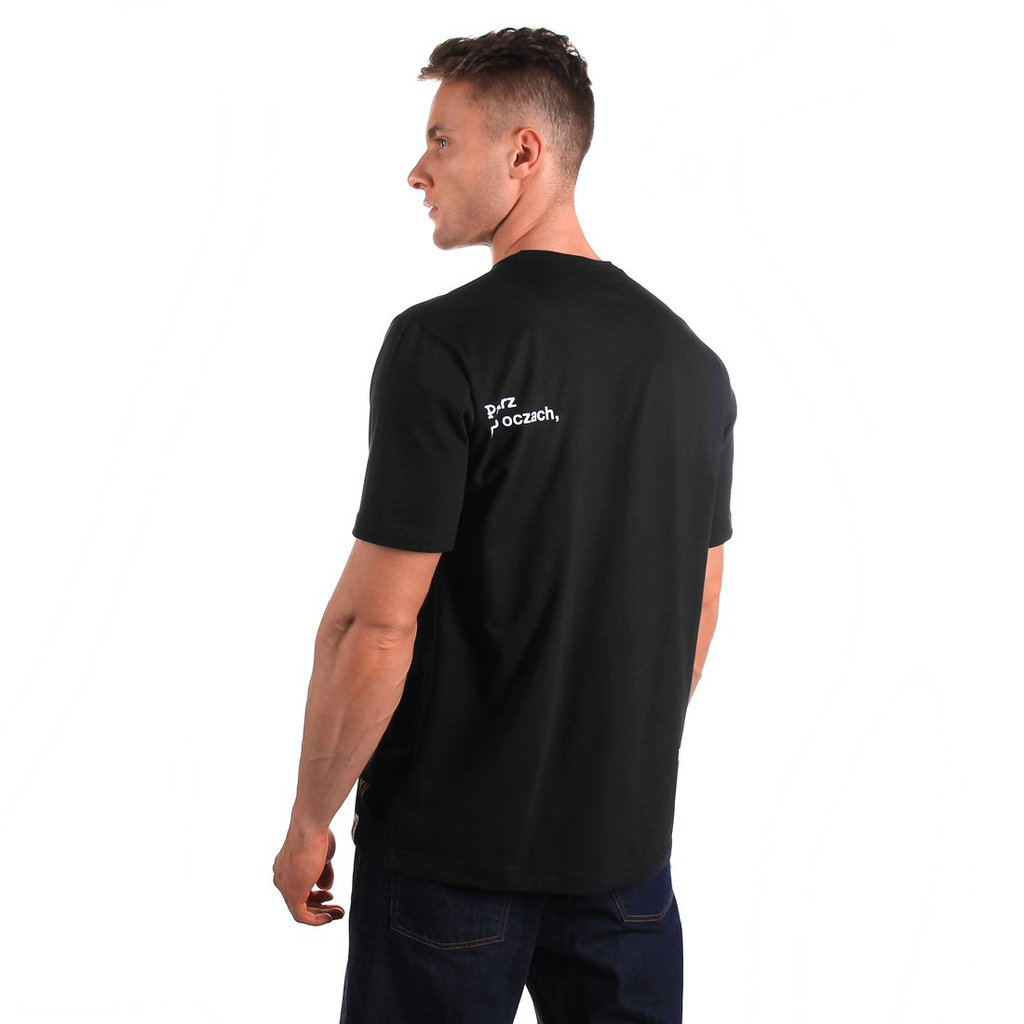 T-SHIRT PATRZ BLACK
