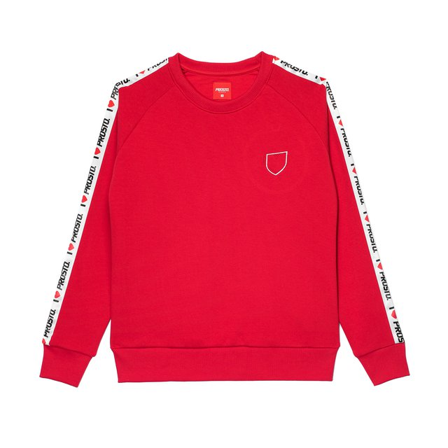 CREWNECK LOVE RED