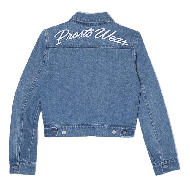 JEANS JACKET BABY BLUE