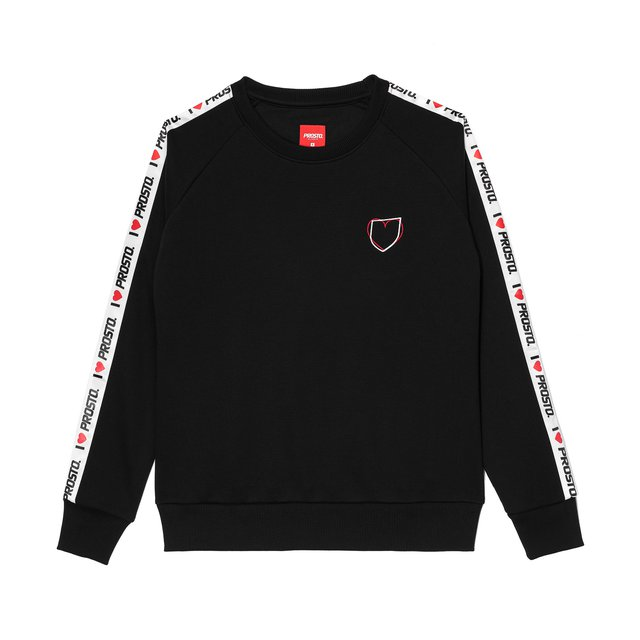 CREWNECK LOVE BLACK