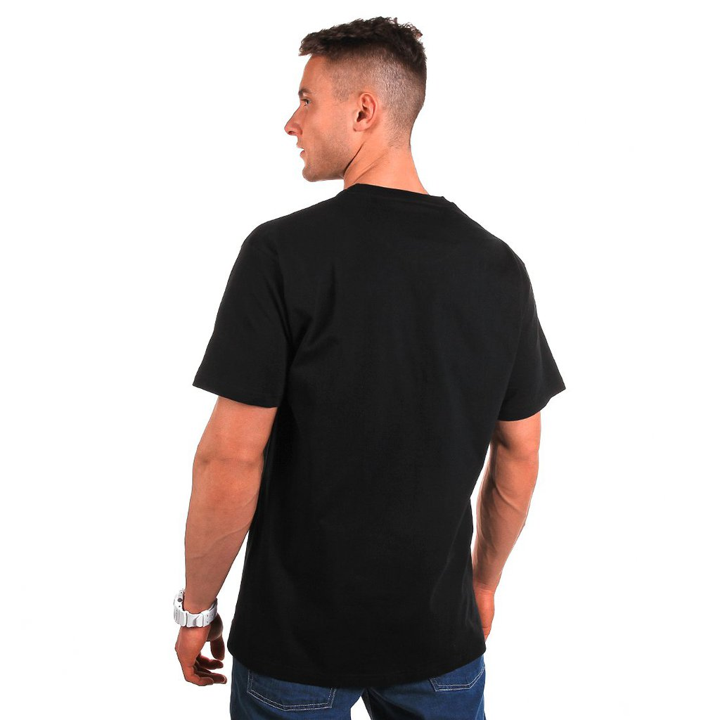 T-SHIRT GLOBALLY BLACK