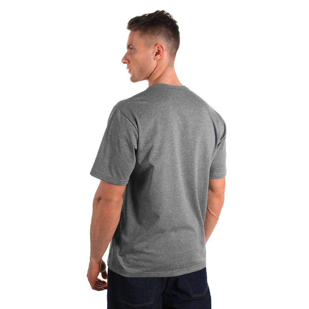 T-SHIRT OSIEDLE MEDIUM HEATHER GREY