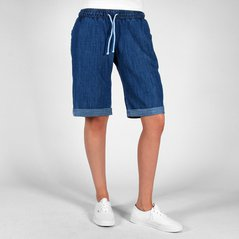 F.KL SHORTS STEADY DARK HEATHER BLUE