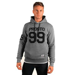 ST HOODY FATTY MEDIUM HEATHER GREY