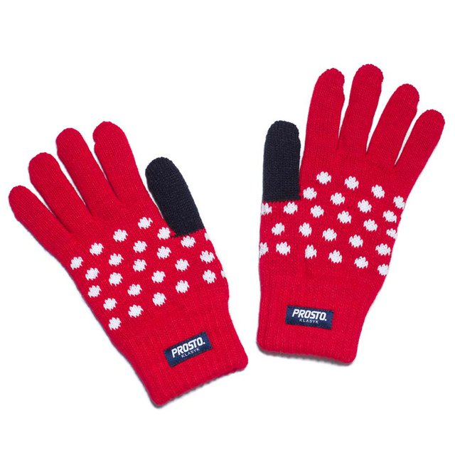 GLOVES SNOW RED