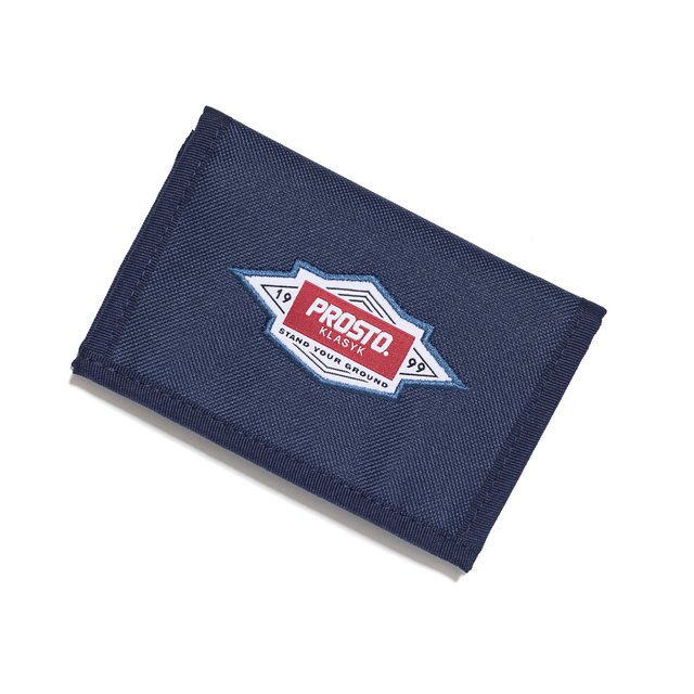 WALLET CRUST DARK NAVY