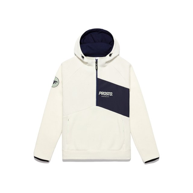 4F X PROSTO WMN POLAR JACKET WHITE