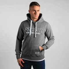 KL HOODY VORTEX MEDIUM HEATHER GREY