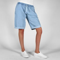 F.KL SHORTS STEADY LIGHT HEATHER BLUE
