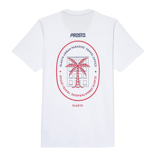 TSHIRT TRAVEL WHITE