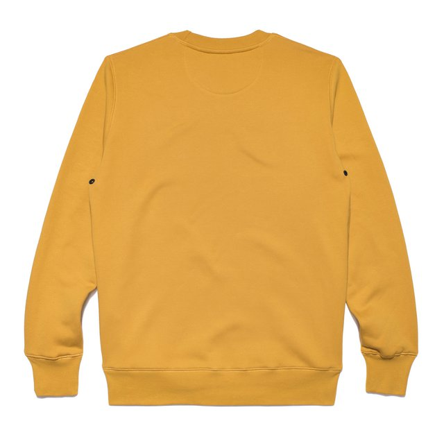 CREWNECK TRADITION LIGHT MUSTARD