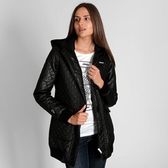 F.KL JACKET QUILTED BLACK