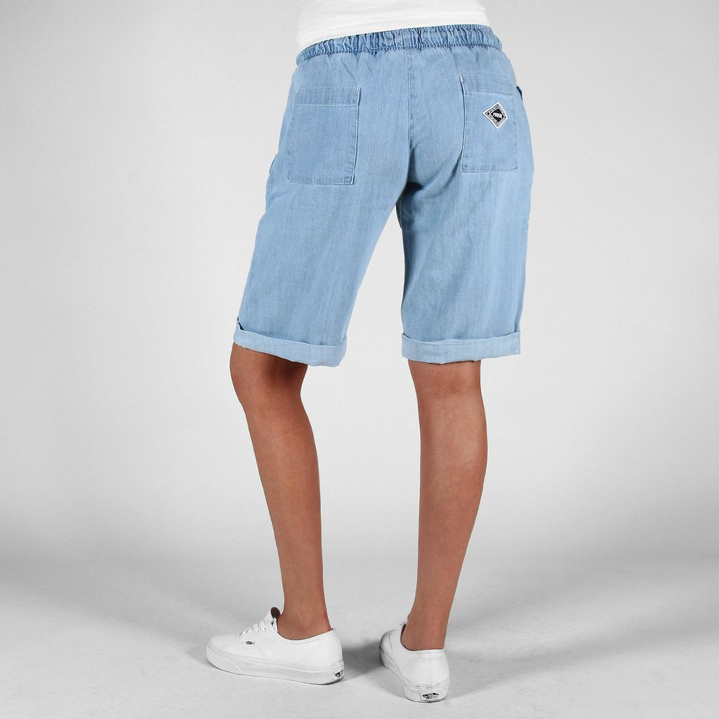 SHORTS STEADY LIGHT HEATHER BLUE