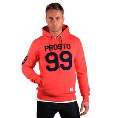 ST HOODY FATTY RUBY RED