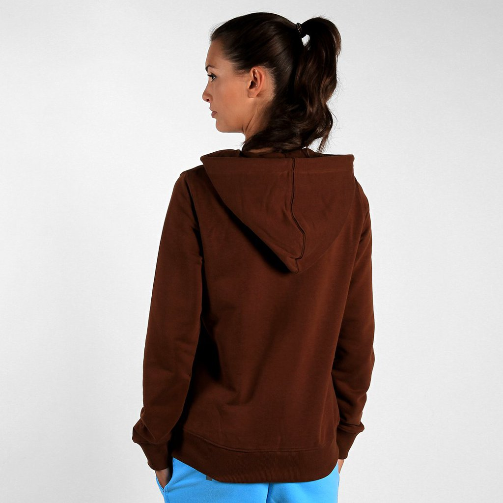 ZIPHOODIE ARC BROWN