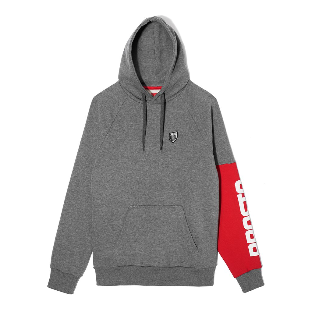 HOODY HANDY GREY
