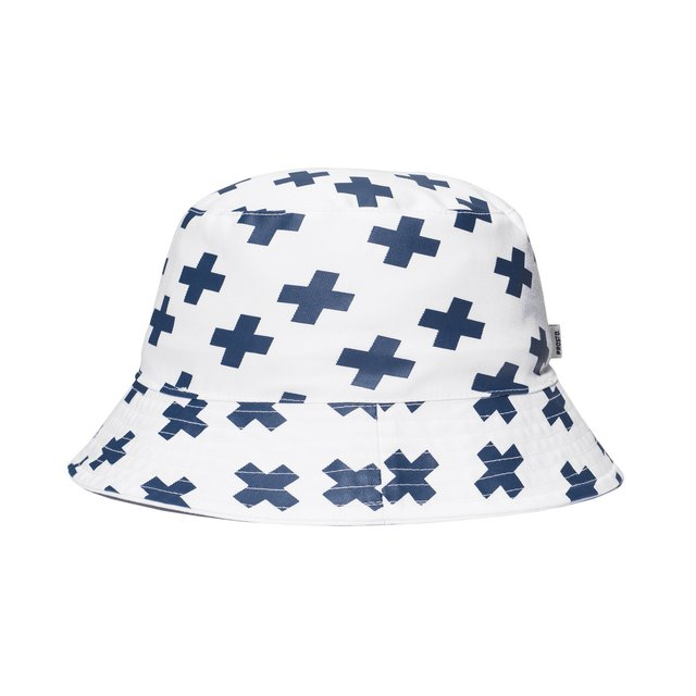 BUCKET HAT ADVENTURE WHITE