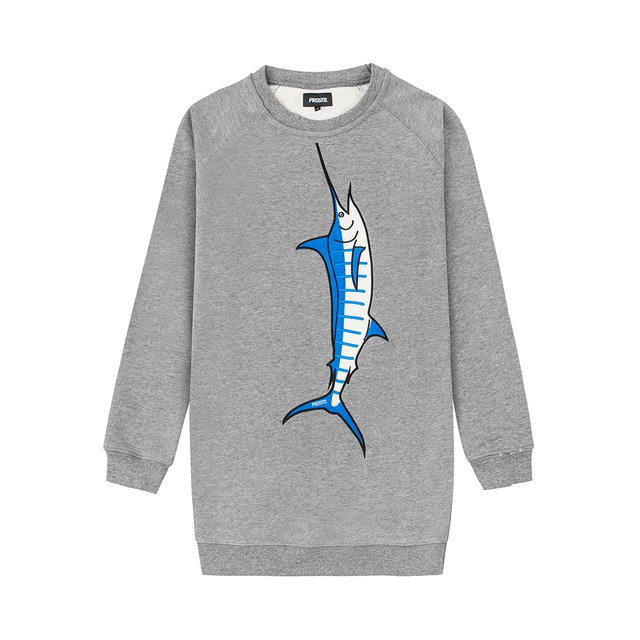 MARLIN CREWNECK GREY