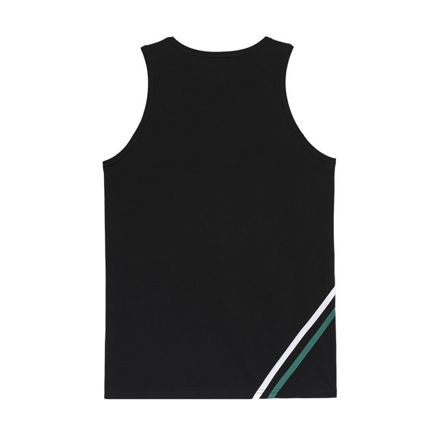 TANK TOP TRIMMING BLACK