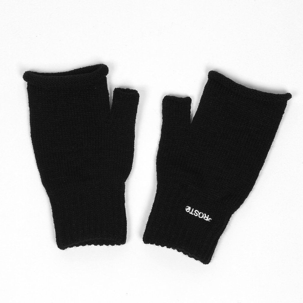GLOVES FINGERSCUT BLACK