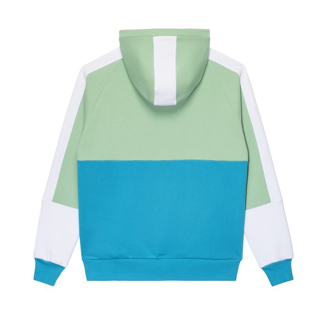 HOODIE SAL LIGHT GREEN/BLUE