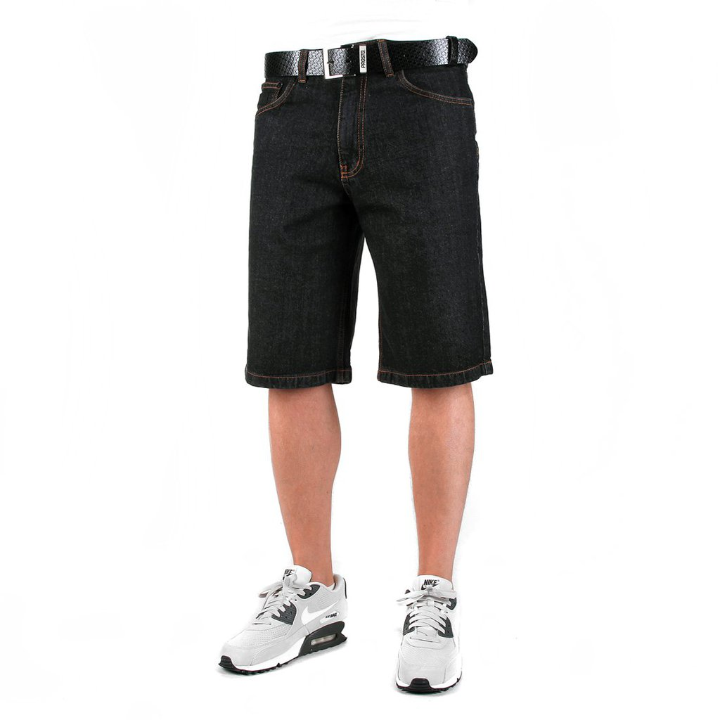 SHORTY JEANS FLAVOUR2 BLACK