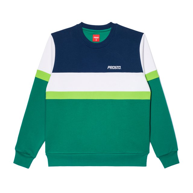 CREWNECK PLACE DARK GREEN