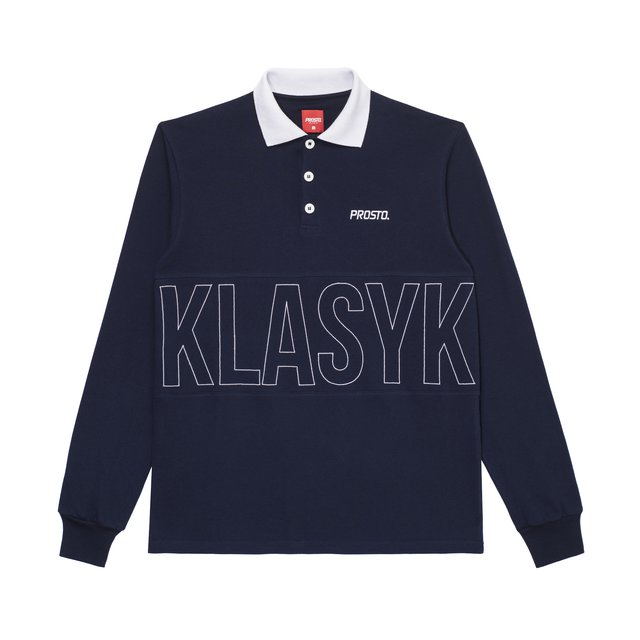 LONG POLO DODGER NAVY