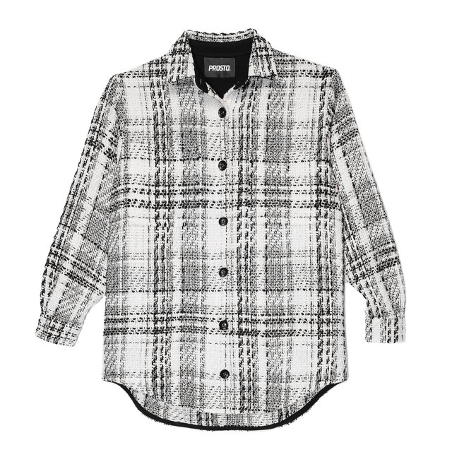 OVERSIZE CHANELLI LOOPS SHIRT