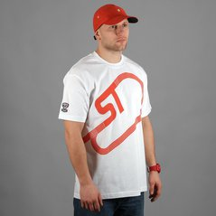 ST TSHIRT PATH WHITE
