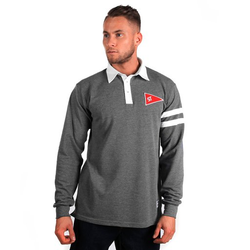 ST LONG POLO RUGBY GREY