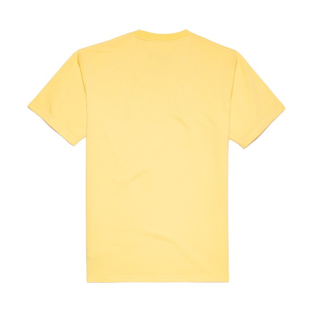 T-SHIRT REAL RECOGNIZE YELLOW