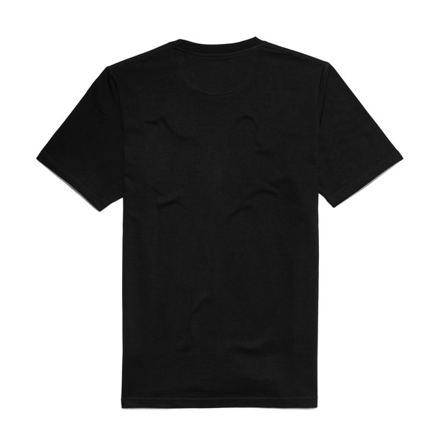 TSHIRT LONG TIME BLACK