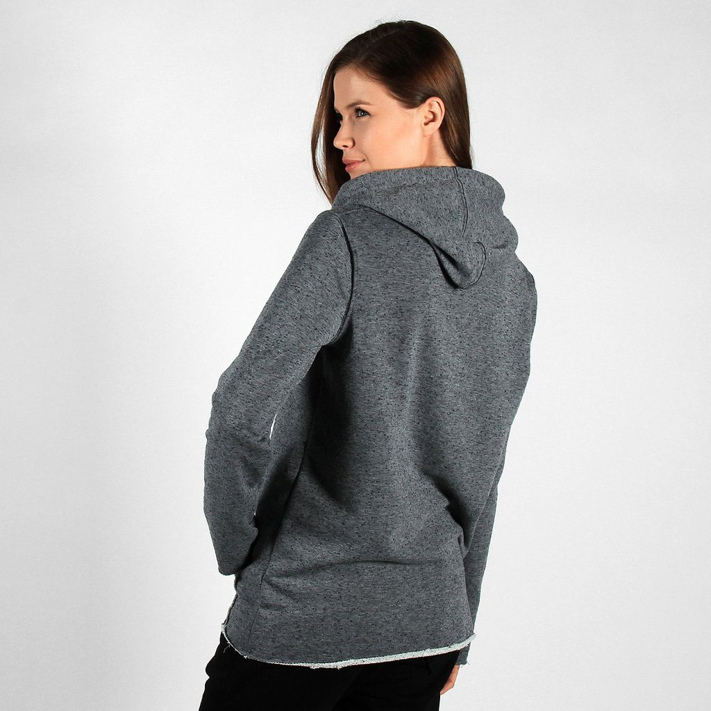 ZIPHOODIE SIMPLE MEDIUM HEATHER GREY