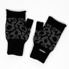 F.EL GLOVES FINGERSCUT MEDIUM HEATHER GREY
