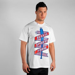 ST TSHIRT STICK WHITE