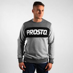KL SWEATSHIRT TIERS LIGHT HEATHER GREY