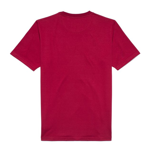 TSHIRT LONG TIME MAROON