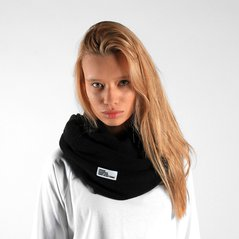 F.EL SCARF TUBE BLACK