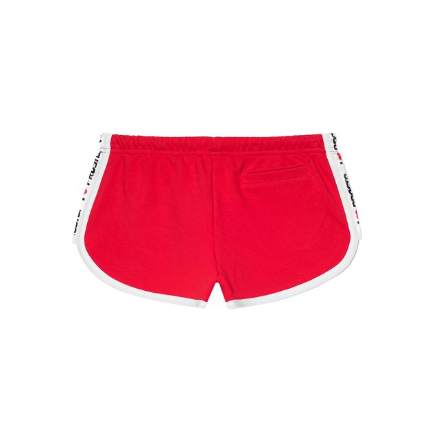 SHORTS HEARTIE RED
