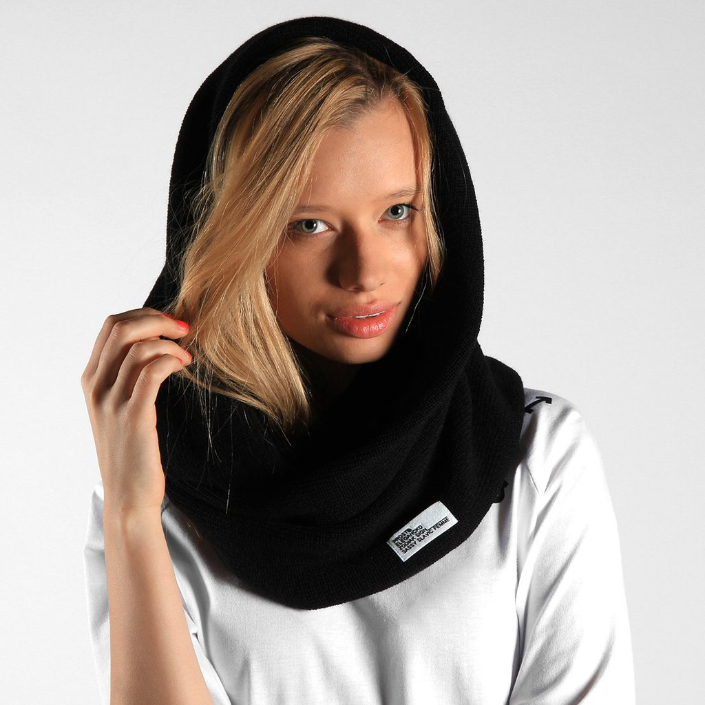 SCARF TUBE BLACK