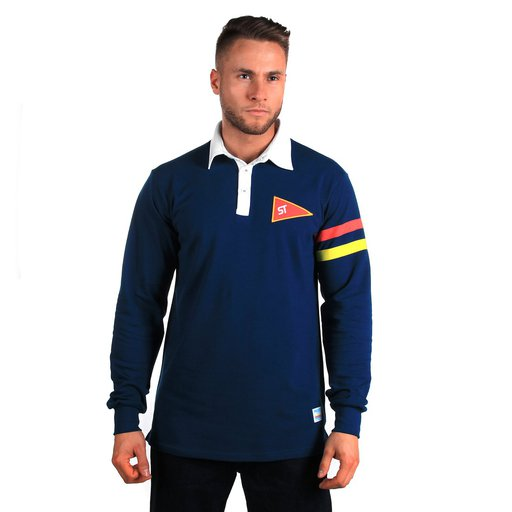 ST LONG POLO RUGBY NAVY