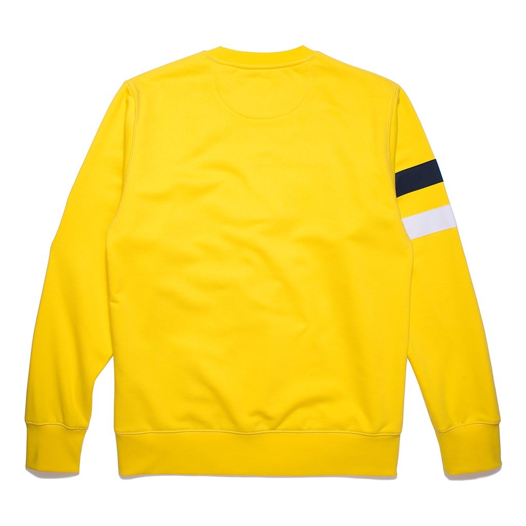 CREWNECK FRESH VISION  YELLOW
